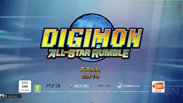 何やら デジモン版スマブラ的なゲームが出るみたい。PS3 と Xbox 360 で