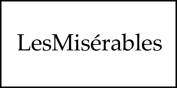 LesMisérables