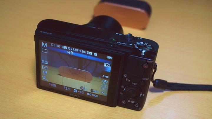 ガジェットレビューの撮影にSONYのコンデジ「RX100M3」はおすすめできるか
