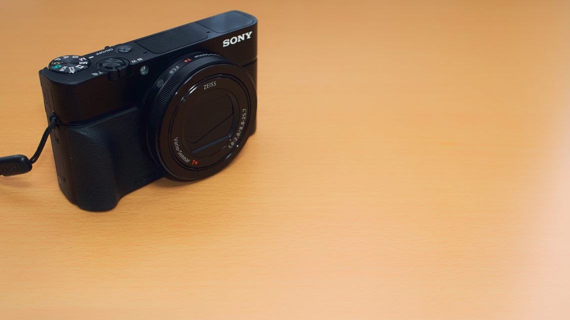初めてのカメラにSONY「RX100M3」を選んだ理由