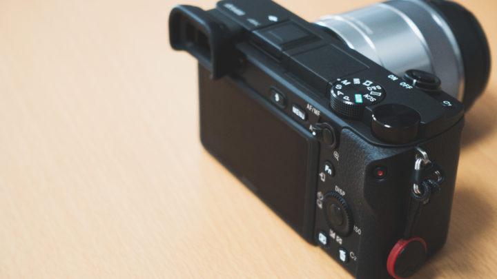 最初のレンズ交換式カメラとしてSONY「α6400」を買った理由