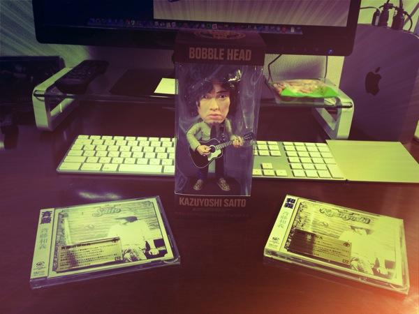 斉藤和義デビュー20周年記念アルバム「斉藤」と「和義」の初期限定盤を購入! バブルヘッド人形の特典付き!