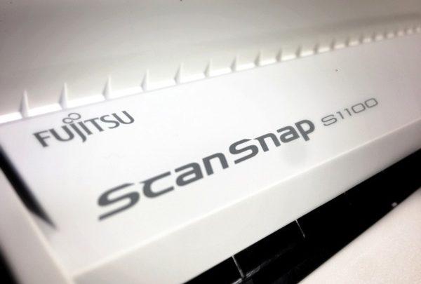 ずっと欲しかった「ScanSnap S1100」がついに届きました!