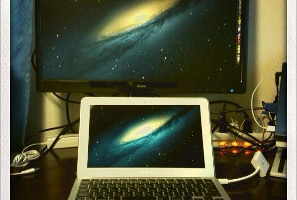 ThunderboltポートしかないMacBookをデュアルディスプレイするために必要なもの