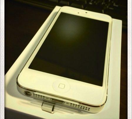 私が iPhone 5 を「白」の「64GB」にした理由! これでもう迷わない!