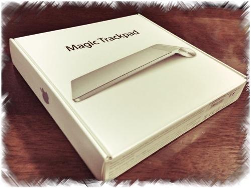 Magic Trackpadを開封! 思ったよりもデカイぞ、これ!