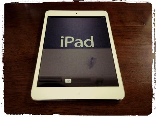 あっという間に完了! iPad miniがやってきた[セットアップ編]