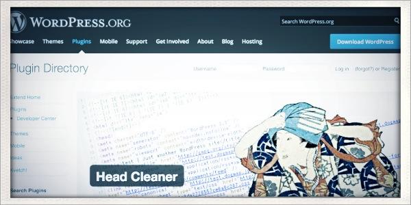 SEO対策プラグイン「Head Cleaner」の使用に注意! [WordPress]