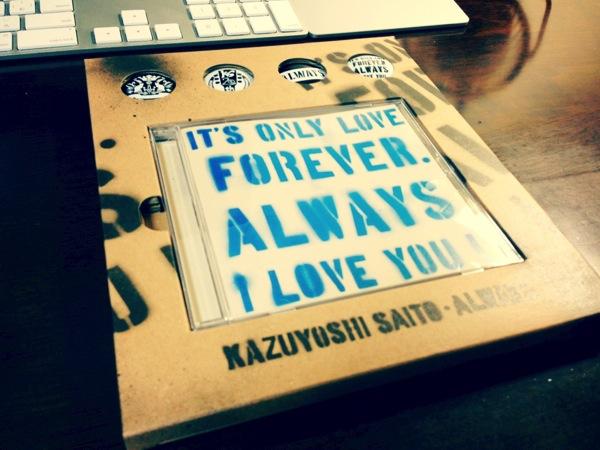 斉藤和義の「Always」の初回生産限定盤をゲット! 斉藤和義サウンドは堪らんね!