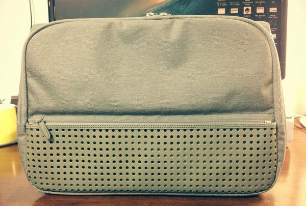 ひらくPCバッグ2013のオリーブグレーを開封レビュー! 大学生にもオススメ【前編】