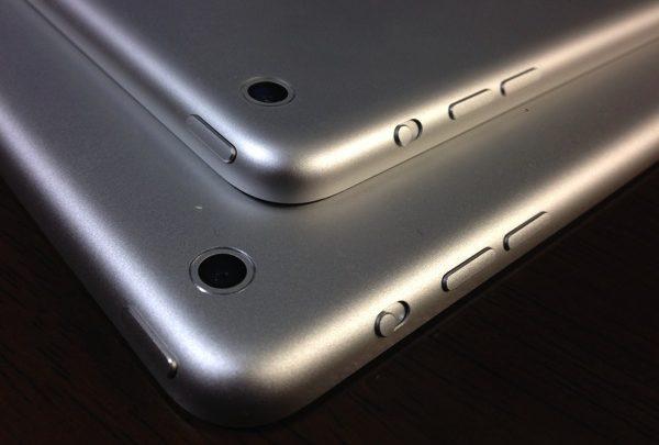 iPad Air と iPad mini のルックスを比較! 大きさ以外にどこが違うのか
