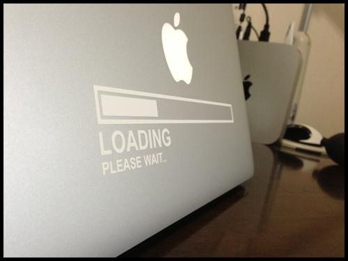MacBookAir Sticker Loading