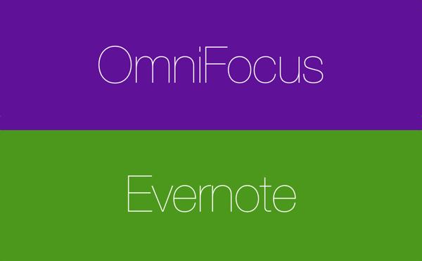 OmniFocus Evernote