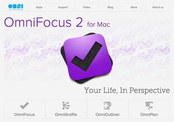 OmniFocus 1 を使っていた人は 2 の Pro 版アップグレードが無料!MacAppStore も大丈夫