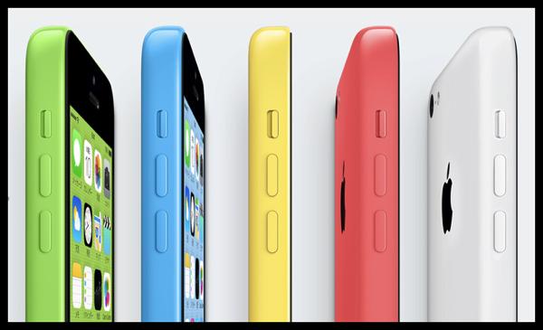 iPhone 5s のスペックを見て 5c のリリースがちょっと腑に落ちたけど