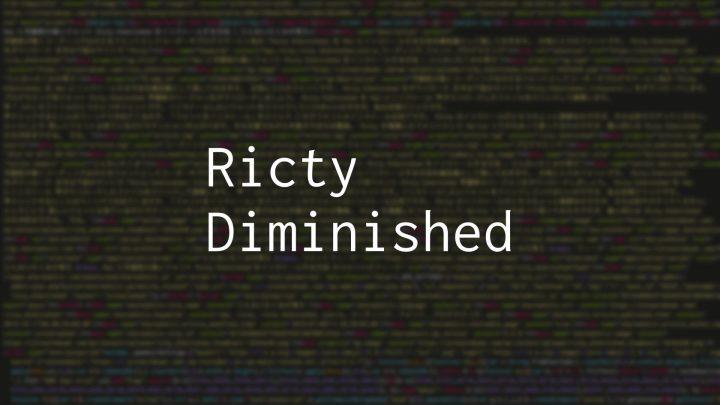 可読性の高いフォント「Ricty Diminished」を Mac にインストールする方法