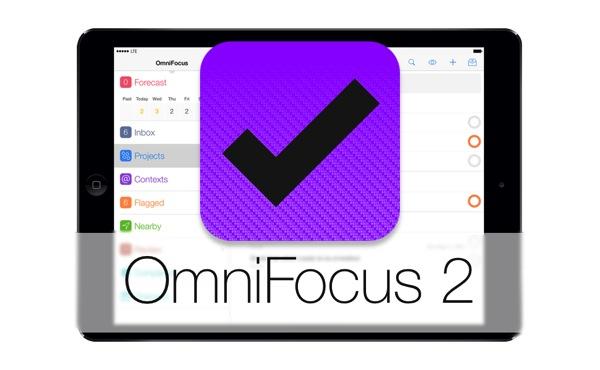 いつの間にかGTDアプリ「OmniFocus 2 for iPad」が発売されていた!