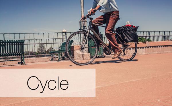 ダイエットを兼ねて運動したい人には「サイクリング」がオススメです