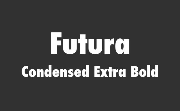 CSS でフォント「Futura」のコンデンス・エクストラボールドを指定する方法